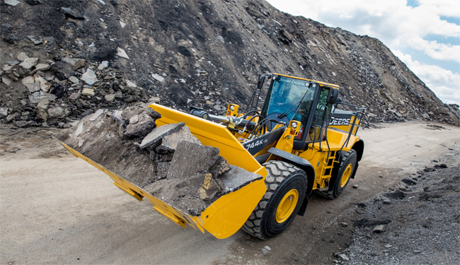 Wheel Loader Camera Systems